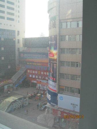 Jinjiang Inn Urumchi Hongqi Road: Looking out my window