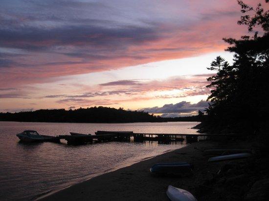 Craganmor Point Resort: Typical sunset