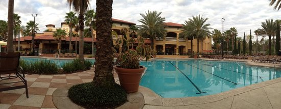 Floridays Resort Orlando: Pool was nice.