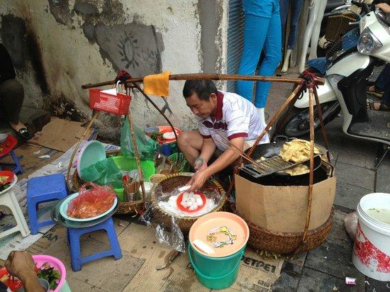 Hanoi Royal View Hotel: Bun Dau Hu Mam Tom