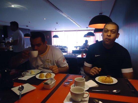 Radisson Hotel Maiorana Belem: no cafe da manha