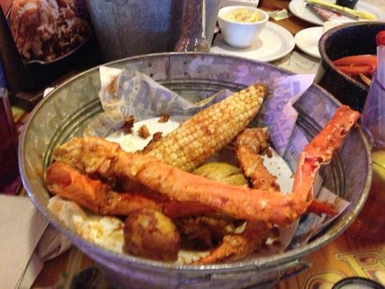 Joe's Crab Shack: BBQ just great'