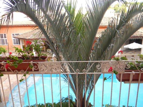 Cordialle Hotel : varanda do quarto