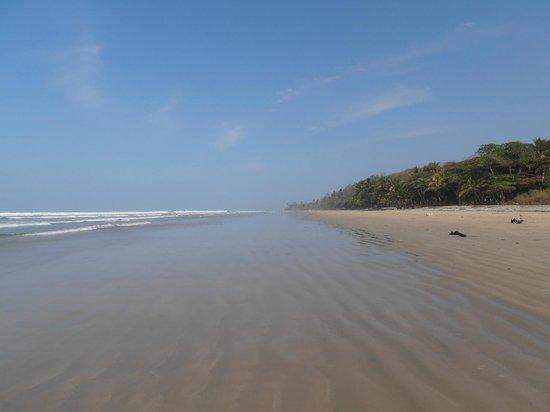 Playa Hermosa: vista hacia el Norte