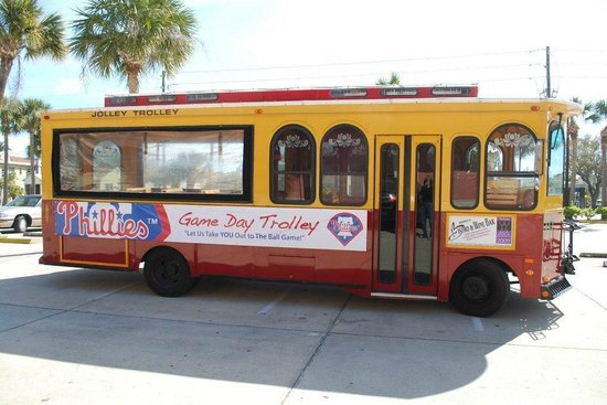 Clearwater Jolley Trolley: Phillies Game Day Trolley!