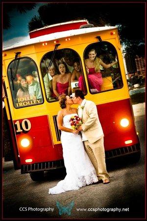 Clearwater Jolley Trolley : Wedding Trolley