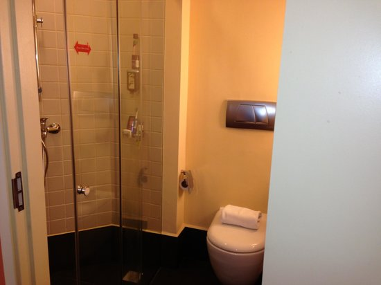 Ibis Singapore on Bencoolen: Separate sliding door shower