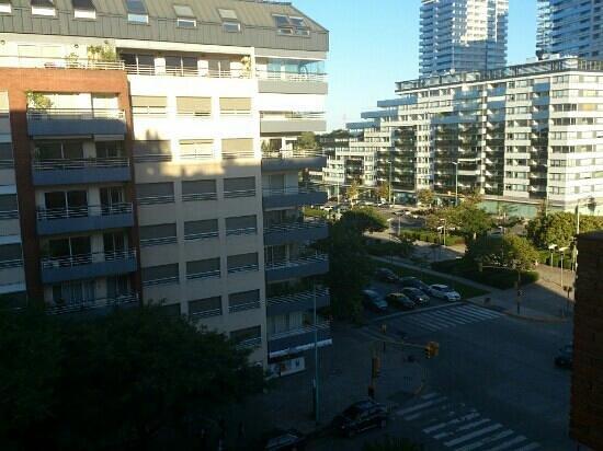 Hotel Madero: Vista desde el Balcón