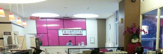 favehotel Wahid Hasyim: Favehotel Wahid Hashim - lobby area