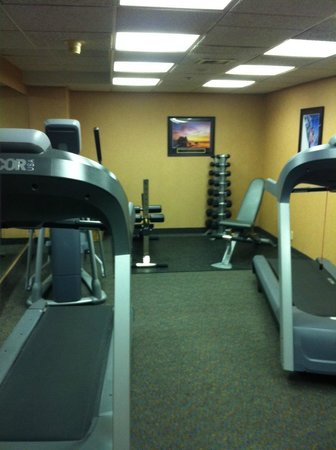 Quality Inn Auburn Hills: Fitness Room on the 3rd floor