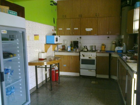 Hostel Estacion Mendoza: cocina