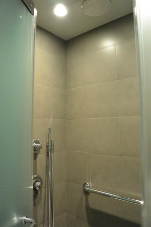 The Pearl Hotel: shower stall