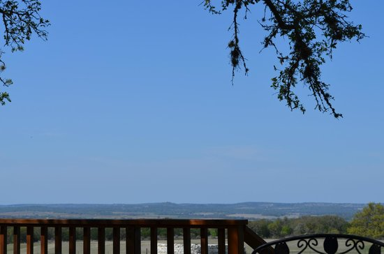 Pedernales Cellars: View from the patio