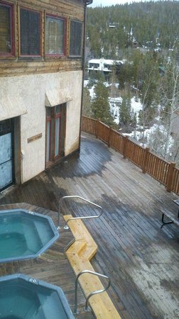 The Lodge at Breckenridge: Hot tubs in main lodge