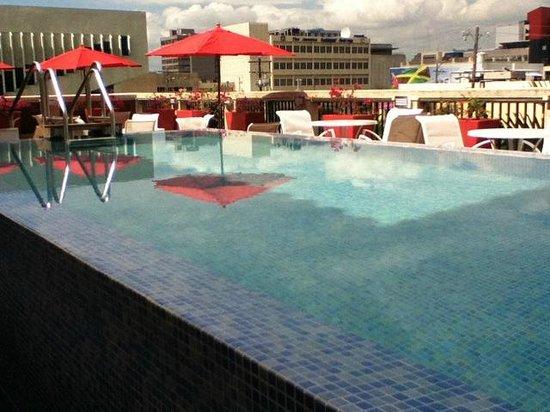 The Spanish Court Hotel: Pool shot #2