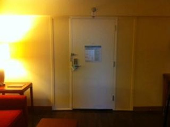 Four Points by Sheraton Suites Tampa Airport Westshore: depressing room