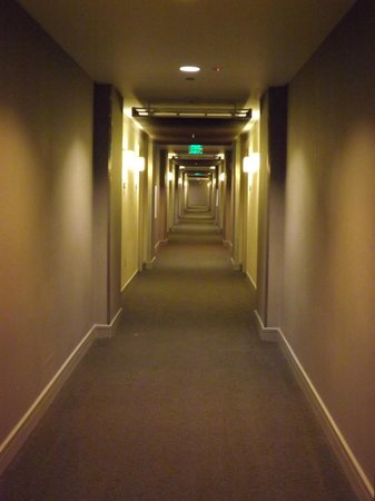 Element Denver Park Meadows : long hallway