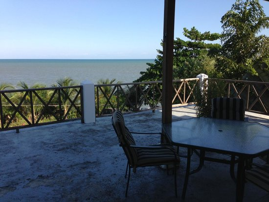 BlueBelize: View From Second Floor Deck