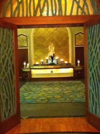 Atlantis, The Palm: Entry into spa area