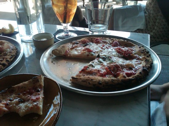 Wildcraft Sourdough Pizza: One of two pizzas ordered for lunch