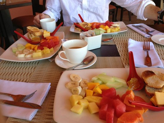 Ringle Resort Hotel & Spa: Free breakfast
