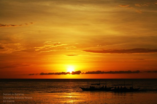 Shangri-La's Boracay Resort & Spa: Sunset again