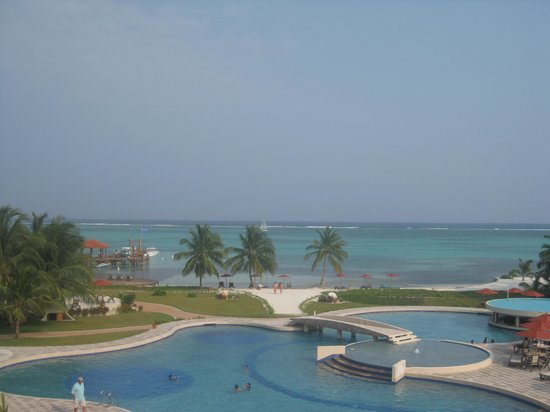 Grand Caribe Belize Resort and Condominiums: View from I1A