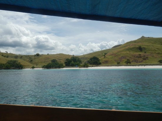 Komodo, Indonesia: View from the boat