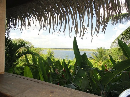 Lamanai Outpost Lodge: View from our room's deck