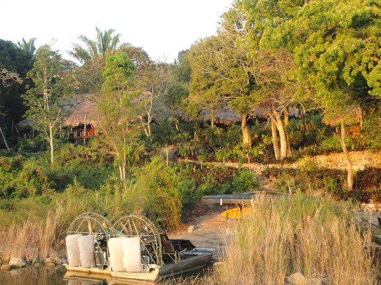 Lamanai Outpost Lodge: Setting at the LOL