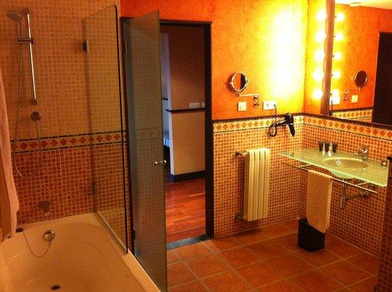 AC Hotel Ciudad de Tudela: Baño