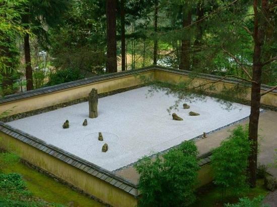 portland japanese garden zen rock garden - Zen Rock Garden