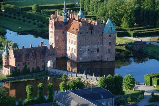 Odense, Danmark: Egeskov Castle, Funen