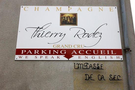 Champagne Thierry Rodez : We Speak English