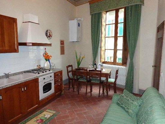La Dama del Campo: appartamento Venere soggiorno