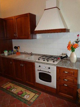 La Dama del Campo: appartamento Venere cucina