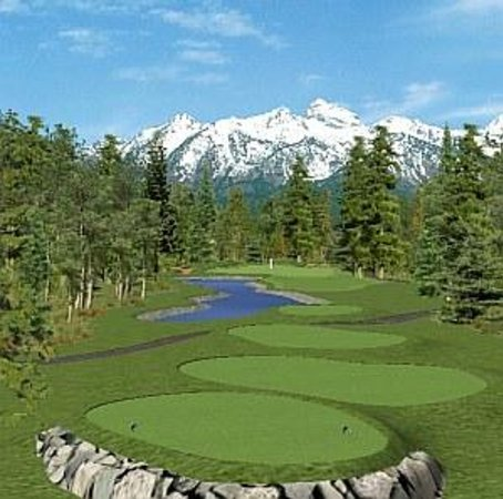 Canmore Golf and Curling Club Bild