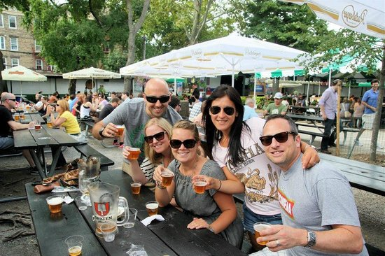 The New York Beer and Brewery Tour: Bohemian Beer Garden!