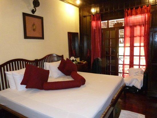 Villa Ban Lakkham: Upstairs double room