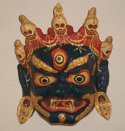 Indira Gandhi Rashtriya Manav Sangrahalaya: Buddhist Mask