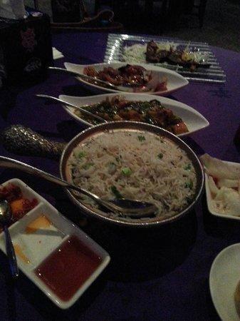 Gulf Royal Chinese Restaurant : Main Courses - Very nice