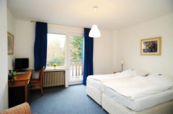 Hotel Waldesruh: Doppelzimmer
