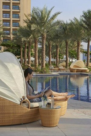Fairmont The Palm, Dubai: Beach Cabana