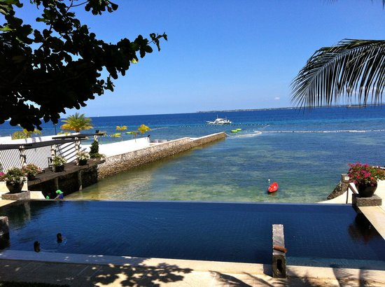 Abaca Boutique Resort: View from the balcony