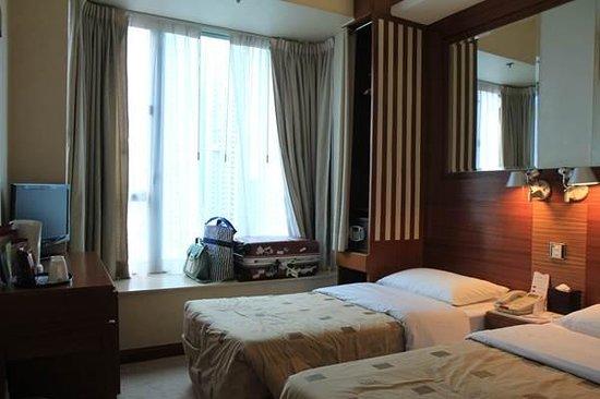 Silka West Kowloon Hotel: Room