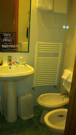 Piemonte Hotel: Very clean functional bathroom