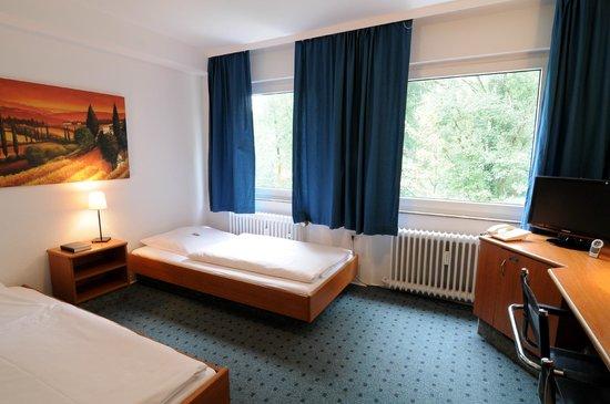 Waldhotel Unterbach : Doppelzimmer