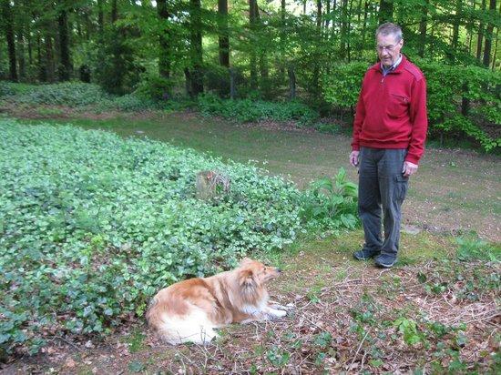 Hampshire Hotel - Mooi Veluwe: ja og så er jeg her med hunden Blondie