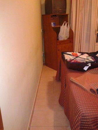 Hotel Tribuna: chambre