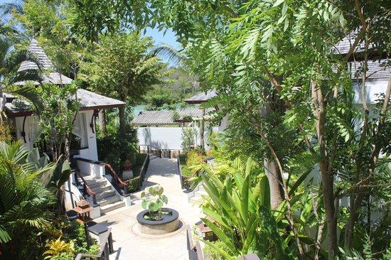 Nakamanda Resort & Spa : clam n lush green resort
